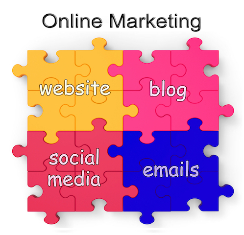 online marketing puzzle shows websites and blogs f1Uxp PO - Promotion in Marketing