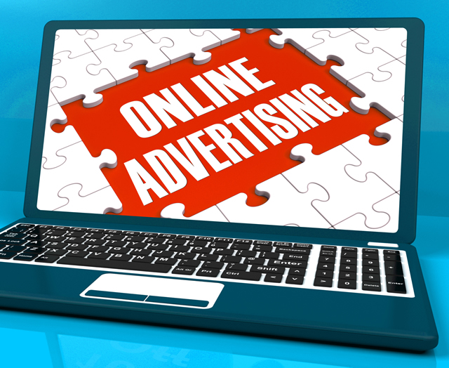 online advertising on laptop shows websites promotions GJwIwEw  - Ways To Use Online Advertising